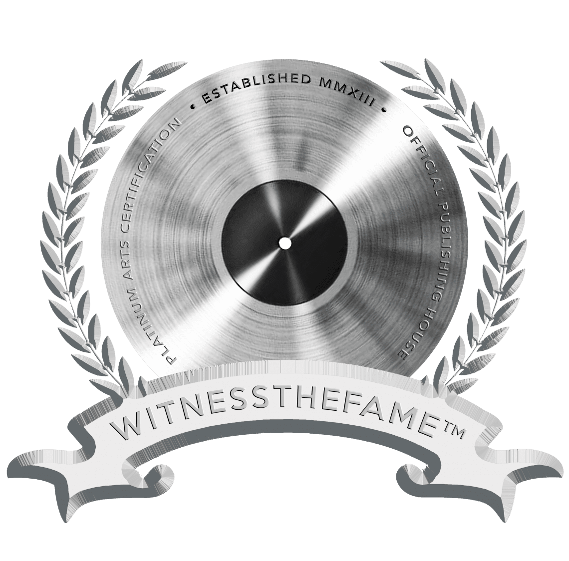 WITNESSTHEFAME PLATINUM BADGE
